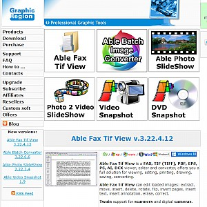 Able Graphic Manager is a program that enables you to easily view, acquire, print and convert DXF