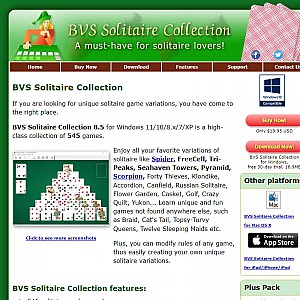 Solitaire Games on Windows