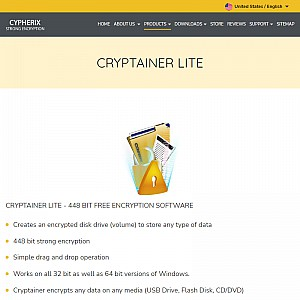 Cryptainer LE Free Encryption Software