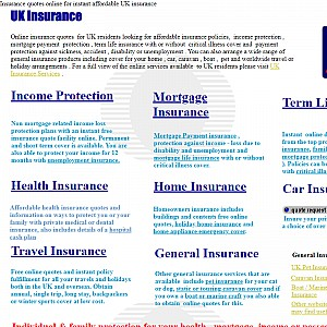 Online Insurance Quotes Affordable UK Insurance