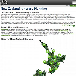 New Zealand Travel Guide and Itinerary Planning
