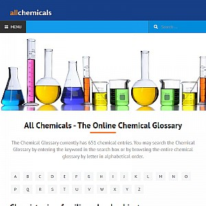Chemical Glossary