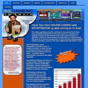 Gambling Software and Services by Real Gambling Software