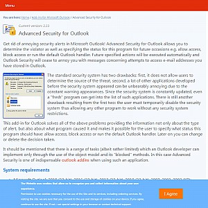 Advanced Security for Outlook