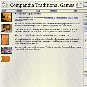 Compendia Traditional Games and Puzzles
