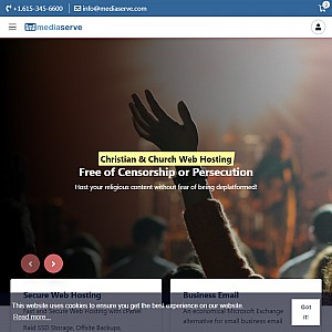 Christian Web Hosting - ChurchQuest