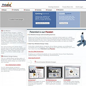 TvLaLa Consulting - NC Website Design Company Raleigh, Cary, North Carolina Web Design Company