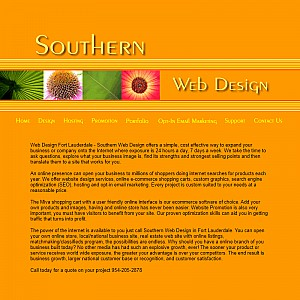 Web Design Fort Lauderdale - Southern Web Design