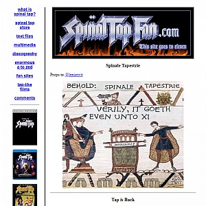 Spinal Tap Fan Site