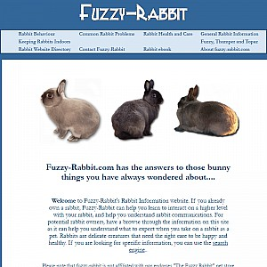 Fuzzy-Rabbit's Rabbit Information Website