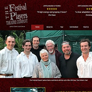 Festival Players outdoor touring theatre written by William Shakespeare