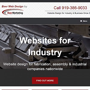 Raleigh North Carolina Website Design and Internet Marketing plus Carolinas Industrial Directory