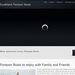Pontoons boats by Southland pontoon boat