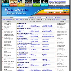 BusinessSeek.biz Business Directory & Search Engine