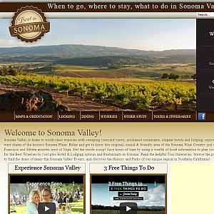 Sonoma Valley Wine Country Information Guide