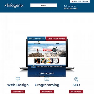 Web Design Utah - Infogenix, Inc. -  Web Design Development Programming Company