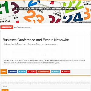 UK Conference Organisers & Event Management