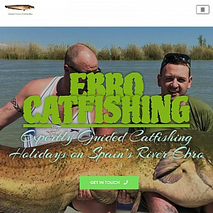 Fishing Holidays in Spain. Guided CatFishing Tours on the River Ebro for Wels Catfish by Ebro-Catfis