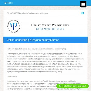 Harley Street Counselling (private clinic)