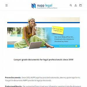 Nupp Legal professional downloadable business documents
