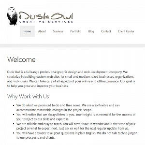 Dusk Owl Graphic Design and Web Development