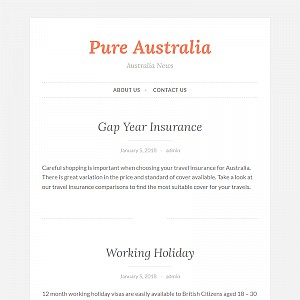 PURE Australia, Independent backpacker guide, backpacker chat forum,