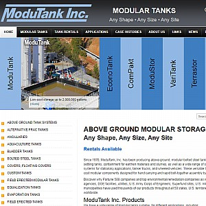 Potable Water Storage Tanks and Containment Systems
