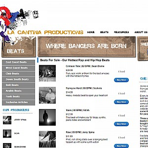 La Cantina Productions - The Beat Cellar