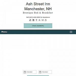 Bed and Breakfast in Manchester New Hampshire - Ash Street Inn