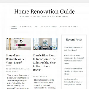 Home Renovation Guide