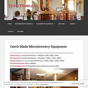 BrewPlants - microbrewery & pubbrewery equipment