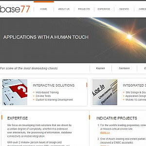 Base77 - Offshore Software, Multimedia, and Web development company, providing custom solutions