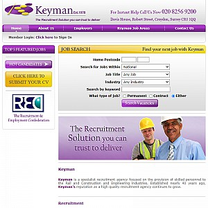 Construction and Engineering Recruitment - Information Technology Recruitment - Keyman