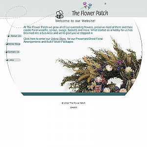 Everlasting Flower Arrangements from The Flower Patch