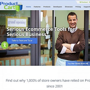 ProductCart shopping cart software and ecommerce solutions