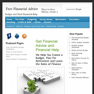Free Financial Advice