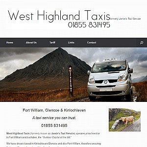 Jamie's Taxi Service, Highlands of Scotland