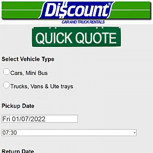 Discount Car & Truck Rental Australia