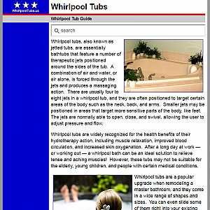 Whirlpool Tubs and Baths