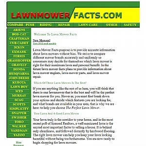 Guides and info about Push Lawnmowers
