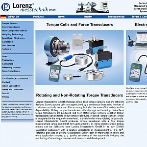 Torque Sensors and Force Transducers, Torque Transducers and Force Sensors - Lorenz Messtechnik GmbH