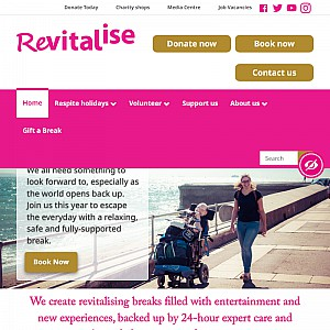 Revitalise...respite care and holiday breaks for people with disabilities and carers