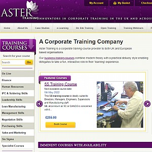 Electronic manufacturing business training courses - Aster Training