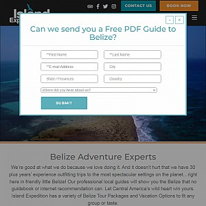 Belize Adventures and Travel Vacations