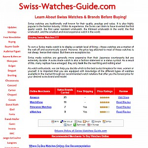 Swiss watches guide