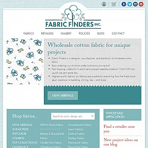 Fabric Finders Wholesale Fabrics