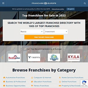 Franchise Europe Top 500 Franchises
