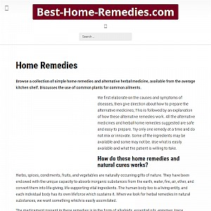 Home remedies for health care
