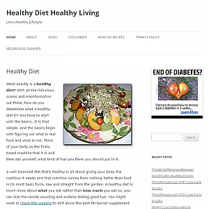 Healthy Diet Healthy Living