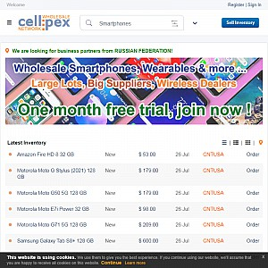 Mobile Phones Wholesale Trading Board - Cellpex.com
